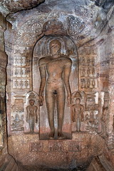 India - Karnataka - Badami Caves - 144 (asienman) Tags: india architecture caves karnataka badami chalukyas vatapi asienmanphotography