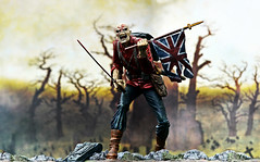Iron Maiden (RK*Pictures) Tags: music trooper abbey metal toy soldier toys actionfigure death pain blood iron background group band battle heavymetal brain 80s mind figure sword warrior eddie oakwood eighties heavy charge ironmaiden oilpainting davemurray mcfarlane brucedickinson mcfarlanetoys steveharris thetrooper adriansmith caspardavidfriedrich nickomcbrain nwobhm pieceofmind