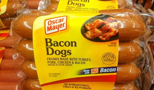 Oscar Mayer Bacon Hot Dogs by JeepersMedia, on Flickr