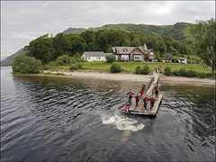 Learning for life at Rowardennan (Boots N Paddles) Tags: life power scottish loch lomond lochlomond hostelling syha rowardennan scottishpower exployability scottishhostelling lifeandemployability