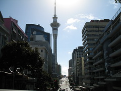 002 - Sky Tower at Auckland 2