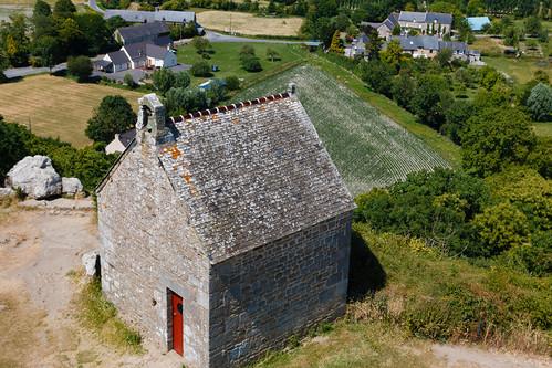 Chapelle Saint-Michel au sommet du Mont-Dol