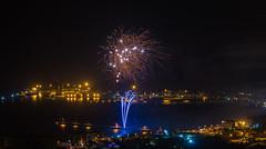 Fuochi d'artificio di San Giovanni 2014 a Vado Ligure [6] (Tiziano Caviglia) Tags: lights fireworks liguria luci fuochidartificio marligure vadoligure rivieradellepalme fuochidartificiovadoligure2014