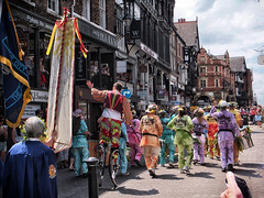 Chester Mid Summer Watch 2014 (PhilnCaz) Tags: costumes history festival community midsummer traditional historic parade celebration chester ritual hdr highdynamicrange streetfestival walledcity tonemapped colorefex niksoftware midsummerwatch philncaz chestermidsummerwatch f800exr chestersummerwatch