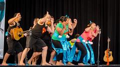 Vacation_20140712_111601 (Kathrin & Stefan) Tags: newzealand festival dancing stage indoor auckland maori haka thecloud māori