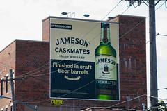 Jameson (Always Hand Paint) Tags: jameson jamesoncomplete kristamlindahl b191 ooh outdoor colossalmedia alwayshandpaint skyhighmurals advertising colossal handpaint mural muraladvertising winespirits