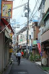 tokyo6017 (tanayan) Tags: urban town cityscape tokyo japan nikon j1 road street alley    jyujo