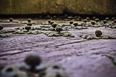 La horda ferrea (Ignacio M. Jimnez) Tags: hierro iron remaches rivets madera wood puerta door ubeda jaen andalucia andalusia espaa spain