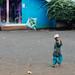 Muslim Boy Flying Kite