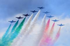 DSC_5632 (sauliusjulius) Tags: nato days ostrava 2016 czech air force september 17  18 leos janacek airport osr lkmt frecce tricolori 313 gruppo addestramento acrobatico aermacchi mb339