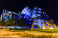 ToDieFor (PamBolingPhoto) Tags: clevelandclinic frankgehry lasvegas louruvo nevada architecture braincenter nightphotography wwwpambolingcom unitedstates us