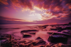 Dunraven Bay, S.Wales. (Rob Escott - (E-form Photography)) Tags: swales dunravenbay sunset beach longexposure nikond7000 movement sea water welshlandscape welshcoastline wideangle landscape