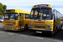 ORS 60R, UVT 14X, Leyland, Stevenson, P1050192 (LesD's pics) Tags: bus showbus2016 stevensons stevenson leyland ors60r uvt14r stevensonspath stevensonuttoxeter
