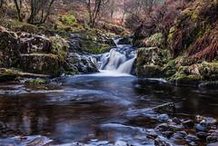 Waterfall and Pool (Geoff France) Tags: scotland arran island water pool stream river rocks landscape scottishlandscape outdoor