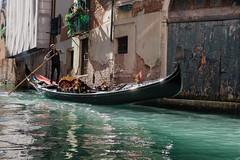 Gondolier (lewis_brittain) Tags: italy italian venice gondolier gondola canal water nikon d5300 35mm travel