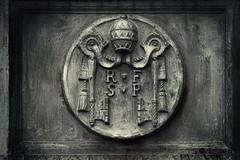 Emblem (Seiichi Kusunoki) Tags: vatican rome emblem