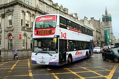 38222 SN09CDE First Aberdeen (busmanscotland) Tags: 38222 sn09cde first aberdeen sn09 cde ad trident enviro 500 e500 glasgow