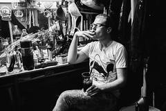 (red line highway) Tags: life people street social documentary city nikon stpetersburg russia   photography blackandwhite monochrome photo photostory show lgbt club man metamorphoses night story portrait cigarette photojournalism