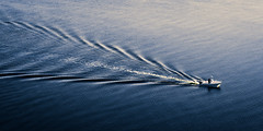 Birds Eye View (gabe.mirasol) Tags: nikon d7100 1755mm 1755 nikkor dx water abstract boat river split tone