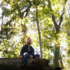 Lawrence (Remy Fisher) Tags: portrait landscape outdoors outside forest selftaught boy