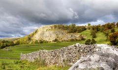 Stainforth Scar, Yorkshire Dales (robin denton) Tags: yorkshiredales nationalpark northyorkshire landscape drystonewalls hdr photomatix yorkshirelandscape yorkshiredalesnationalpark ribblesdale clouds countryside ruralscene rural englishcountryside stainforth limestone karstscenery karst
