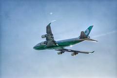 EVA (Alex Vodosky) Tags: rctp   aviation airplane aircraft taiwan eva br    boeing a6000 sony b744 b747 747 747400 evaair