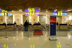 Garuda Check-in Counters (A. Wee) Tags: garudaindonesia  denpasar bali  indonesia  airport  dps