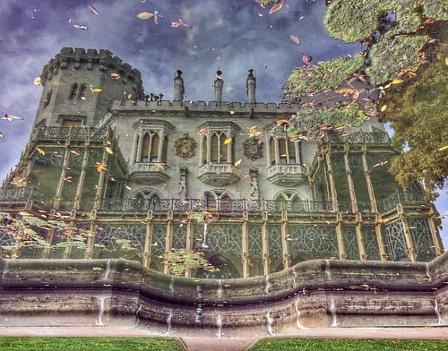 The castle in reflection