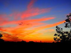 New York Sunset (dimaruss34) Tags: newyork brooklyn dmitriyfomenko image sky clouds autumn fall sunset