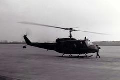 Bell UH-1H Iroquois US Army RAF Wildenrath 06Jun76 (kerrydavidtaylor) Tags: uh1