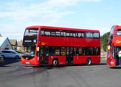 GAL OM1 - YJ16DBO - NSF - BX BEXLEYHEATH BUS GARAGE - MON 12TH SEPT 2016 (Bexleybus) Tags: go ahead goahead london bx bexleyheath bus garage depot kent om1 yj16dbo optare metrodecker trial demonstrator tfl route 486
