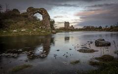 Kinvara Sunset (Richie Moylan) Tags: grass rock bay water castle