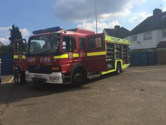 LFB Wemberly FRU (slinkierbus268) Tags: london fire brigade lfb fru rescue unit mercedes atego wembley g30 bluelights