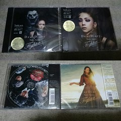 Pshycal Single_Dear Diary - Fighter (2) (Namie Amuro Live ) Tags: namie amuro  deardiary deathnote fighter physicalcd singlecover