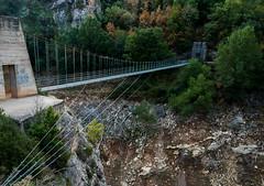 Sant Jaume bridge.  Catalan side path. (prals1969) Tags: catalunya montrebei catalunyaarag