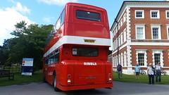 Leyland Atlantean (PD3.) Tags: 1397 nrn397p nrn 397p letland atlantean roe park royal ribble rvpt vehicle preservation trust bus buses lytham hall st annes lancashire classic blackpool