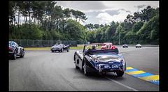 Jaguar XK 120 (Laurent DUCHENE) Tags: peterauto lemansclassic 2016 bugatti parade jaguar xk 120 xk120