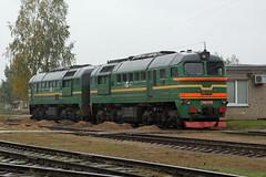 2M62-0739 Dauguvpils, 05/10/16 (Richard.A.Jones Railways) Tags: 2m62