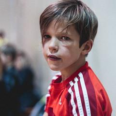 IMG_8375 (Aneta Urbon) Tags: kids playing badminton sports canon 6d 50mm inside indoors children boy girl motivation