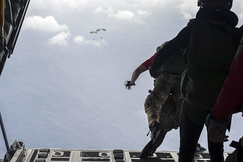 31st Rescue Squadron conducts jump ops in Okinawa during Keen Sword 17