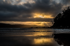 Watching the sunrise from Umina Point (Merrillie) Tags: daybreak uminabeach landscape nature australia reflections nswcentralcoast newsouthwales sea nsw uminapoint beach ocean centralcoastnsw umina clouds photography waves outdoors seascape waterscape centralcoast water sunrise