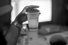 Tis the Season to Sip D'usse (Brotha Kristufar) Tags: podcast podcasting feature explore explored flickrisracist music hiphop culture rap beard blackthought jimmyfallon late night television band art theroots interview press discussion talk fun liqour dusse rocnation nyc brooklyn crime tax taxstone weekly portrait portraiture indoor indoors studio monochrome blackandwhite monochromatic comedy real media canon history black philly