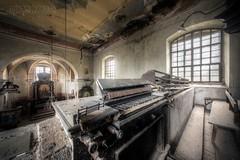 (satanclause) Tags: oputn kostel abandoned church sudety sedetenland czechia czech urbex hdr varhany organ
