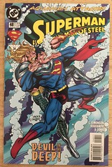 Superman Man of Steel #48 - Devil in the Deep (sheriffdan10) Tags: superman manofsteel dc dccomics comicbooks superhero superheroine cover covers magazine sciencefiction