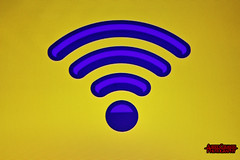 INTERNET WI-FI ACCESS. (ALBERTO CERVANTES PHOTOGRAPHY) Tags: internet photography wifi access 1969 indoor outdoor blur photoborder retrato portrait luz light color colores colors brillo brightcolors bright 10000 azul blue yellowbackground sign mundial mundo world red macro boked closeup señal connected conectado communications comunicacion computadora computer globaltool filter pictureframe colorlight frame framed vintage nofilter collection automatic photoart