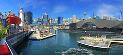 Darling Harbour (iPhone) (leonsidik.com) Tags: leon sidik iphone darling harbour sydney nsw newsouthwales australia visitnsw sea bay martime museum summer 2016 city downtown hdr