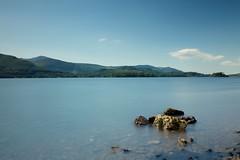 Derwent Water (Future-Echoes) Tags: 4star 2016 cumbria derwentwater lake longexposure rock thelakedistrict water