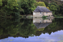 Moulin (Anglique_T) Tags: campagne rivire bretagne couleurs calme