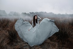 The Heart Of Winter (Adam Bird Photography) Tags: adambirdphotography adambird dress movement fog atmosphere fashion surreal conceptual winter queen princess fairytale narrative story explore crown flickr