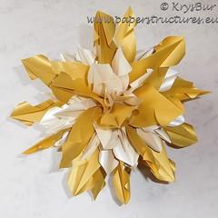 Flavors of Childhood (K16034) (Origami Spirals) Tags: curler twirl spiral fold paper burczyk origami folding art krysbur